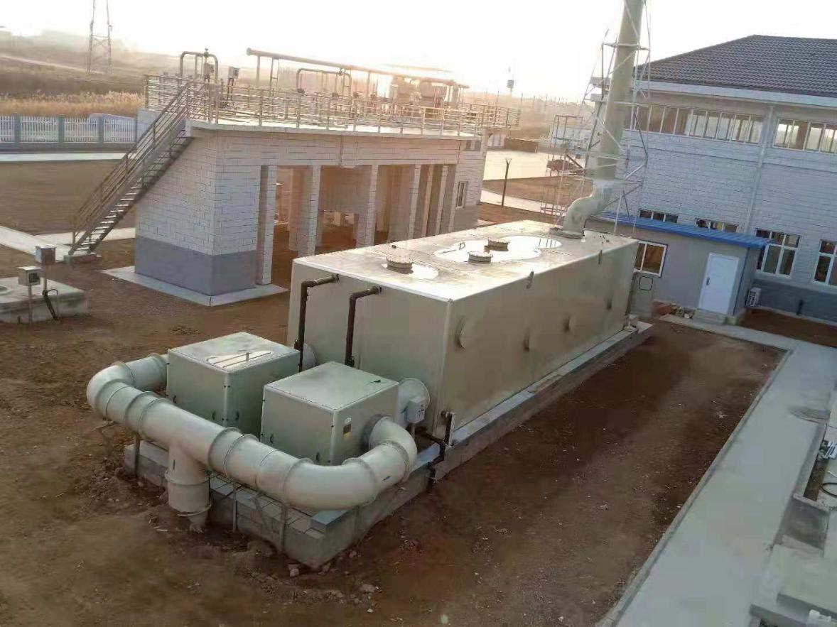污水厂废气处理_污水站废气治理方案