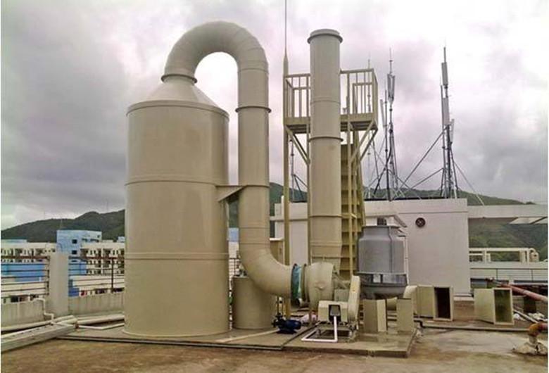 四川资阳实验室废气处理工程案例