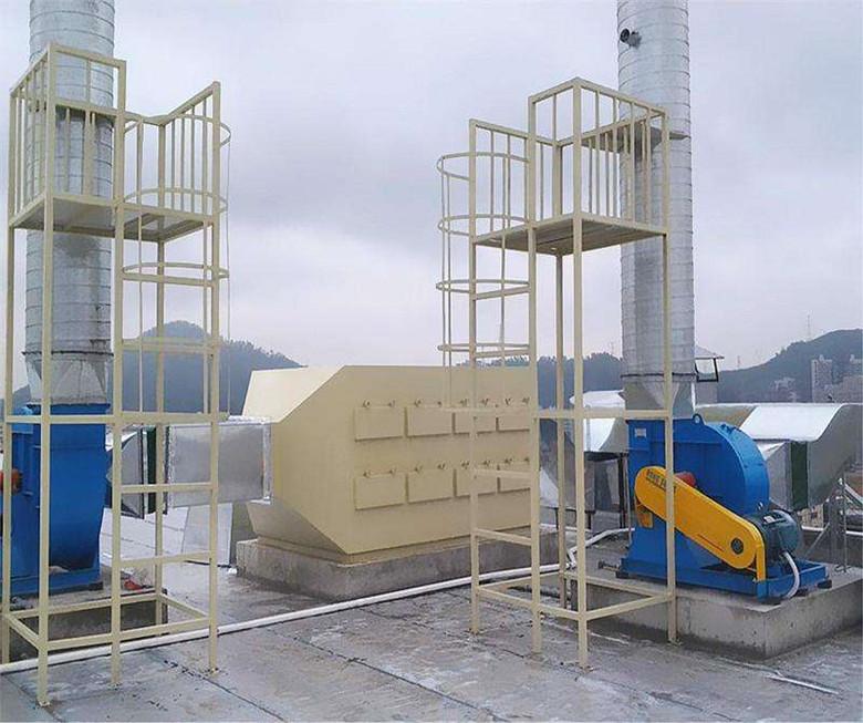 四川成都电子厂废气处理工程案例