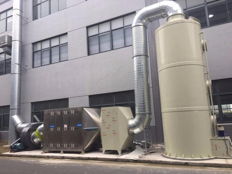 饲料厂废气除臭工艺流程