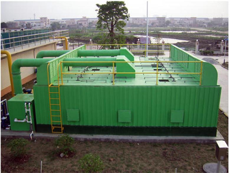 生物过滤法有机废气处理工艺