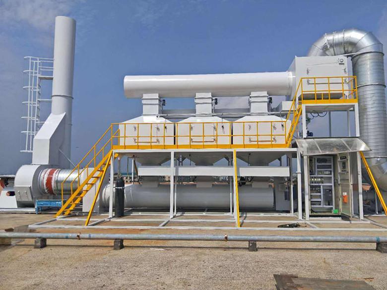 废气催化燃烧设备设计注意事项