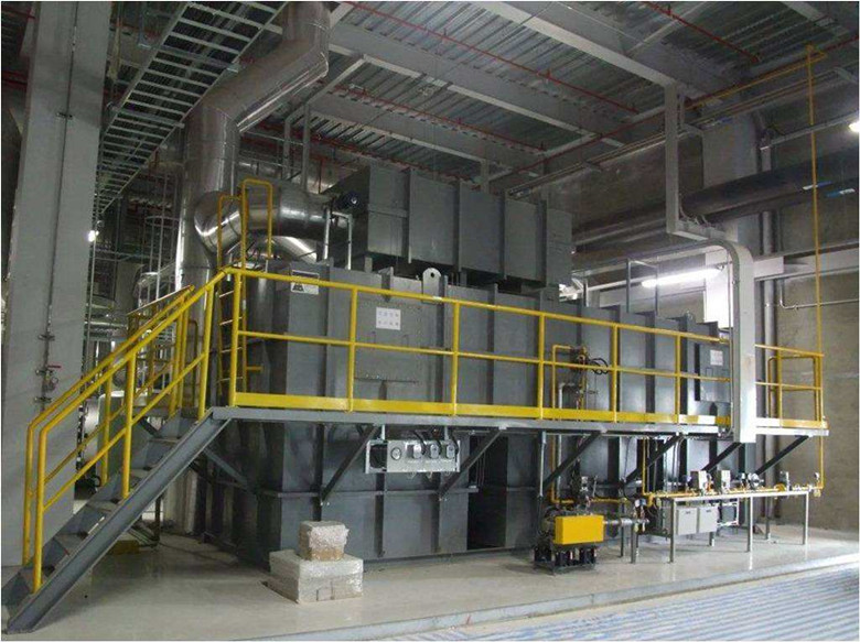 两室RTO蓄热燃烧设备操作原理