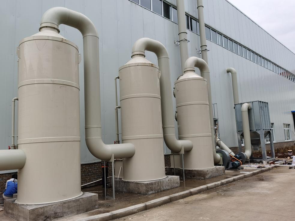 雅安石棉某新材料厂废气治理案例