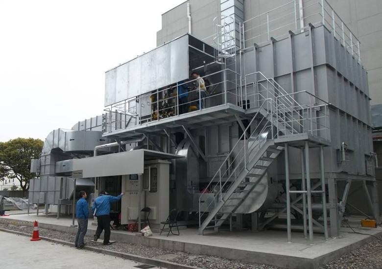 沸石转轮+RTO蓄热式氧化装置